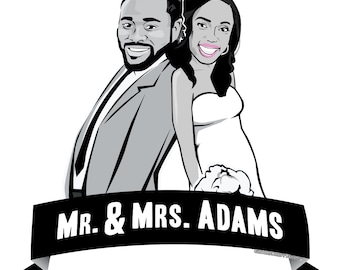 Dynamic Duo (Bride and Groom Gift)