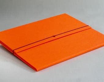 Portfolio Folder -  Report Folder in Orange