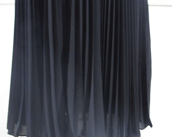 Vintage Black Twirling Skirt, XSmall/Small, 80s Meets 50s