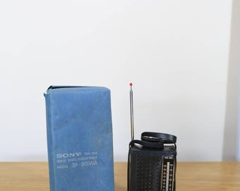 Vintage Sony 3F-85WA Hand held, portable radio