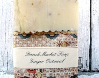 French Market Soap Ginger Oatmeal