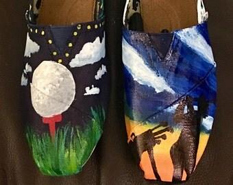 Custom Order Painted Toms