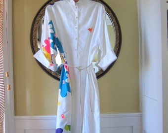 Catherine Ogust For Penthouse Gallery Shirt Dress Size S