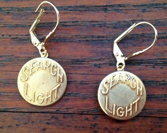 Search Overall Button Earrings