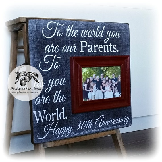 What Is The 30th Wedding Anniversary Gift: Parents Anniversary Gift 30th Anniversary Gifts 50th