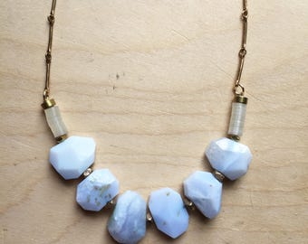 Blue Agate Necklate