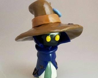 Final Fantasy Black Mage Polymer Clay Figurine