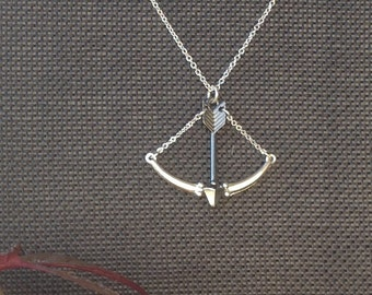 Crossbow Necklace