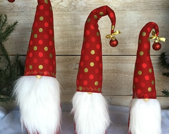 Christmas Gnome, Nordic Gnome, Scandinavian Gnome, Christmas Decoration, Tomte, Nisse, Christmas Gift, Swedish Gnome