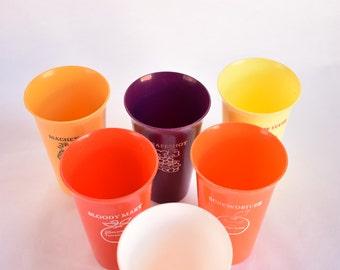 Smirnoff Vodka Plastic Tumblers: Set of 6