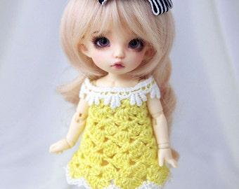 Yellow dress for PukiFee, Lati Yellow