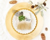 SALE! New item - Blessings & Love - perfect for fall and Thanksgiving decorating, place setting. A great gift for the creative in your life.