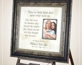 Memorial Frame, Memorial Picture Frame, Memorial Photo Frame, Memorial Gift, In Memory of, Memorial sign, Picture Frame Sympathy Gift, 16X16