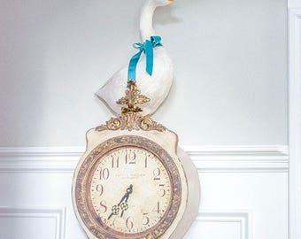 Beautiful Regal White Goose, White Feathers, Swan, Scandinavian Decor