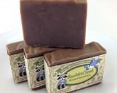 Sandalwood Vanilla & Ylang Ylang-Cold Process Handmade Soap Batch #240