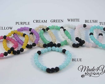 Summer Diffuser Bracelet - Essential Oil Bracelet - Healing Bracelet - 9 Different Colors