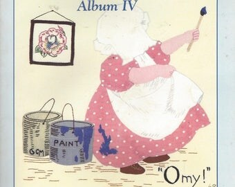 Rare Sunbonnet Family Reunion Album IV Book 126 Winning Designs with Complete Instructions Vintage 1990s Book Complete with Patterns
