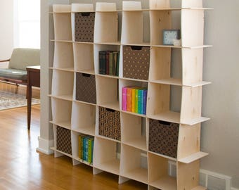 Wooden Modern Bookcase