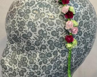 fresh spring flower, floral hairband