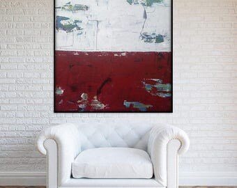 48x48 Inch Extra Large Painting. Extra Large Wall Art. Large Abstract Painting. XL Abstract Art. XL Painting. Abstract Canvas painting. Art