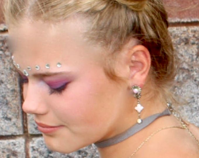 Earrings for Women, Swarovski Earrings, Crystal Earrings, Aurora Borealis Earrings, Vintage Earrings, Vintage Jewelry