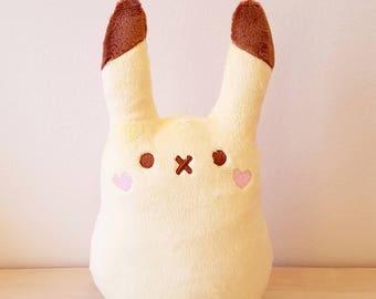 PREORDER Minature Softy Pikachu Plush Toy - Bean Pika Peep Doll