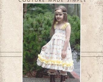 Seyla's Sundress & Top PDF Pattern Sizes 6/12 mos to 8 girls