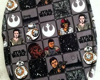 Star Wars Trivet Large Oval Millenium Falcon Motif Star Wars Comic Strip Motif Teacher Gift Hostess Gift House Warming Gift Stocking Stuffer