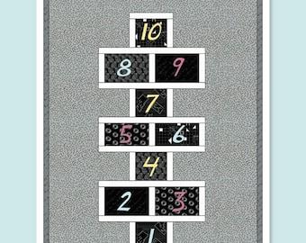 Hopscotch Quilt - PDF