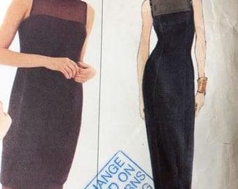 Vera Wang Evening Dress Vogue Pattern