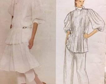 Vogue 2955 Perry Ellis American Designer Original 1980's