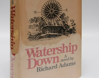 "Gift for Book Lovers: First Edition ""Watership Down"" 