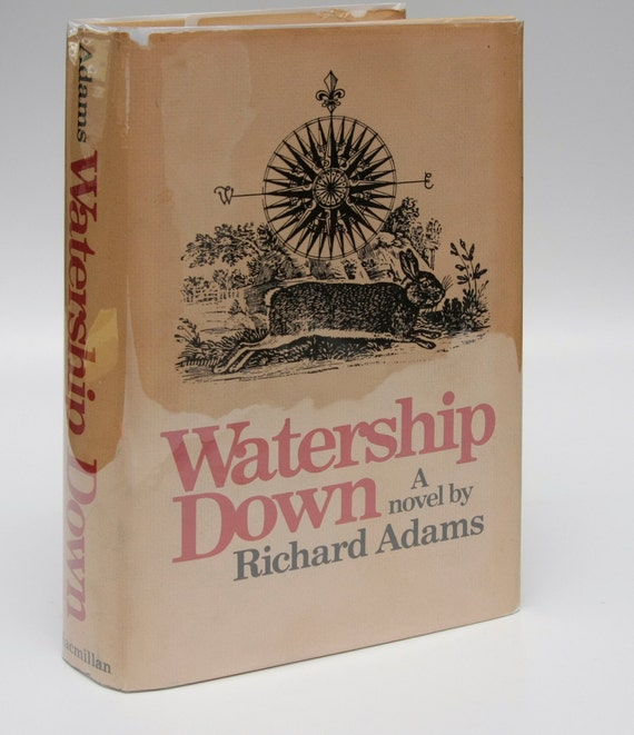 Gift For Book Lovers First Edition Watership Down