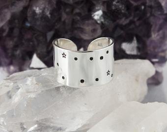 Gemini Zodiac Constellation Ring. Zodiac jewelry. Gemini birthday gift ring. Zodiac ring. Sterling Silver or Aluminum Constellation ring RTS