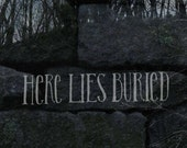 Here Lies Buried - The Salem Project Part 1