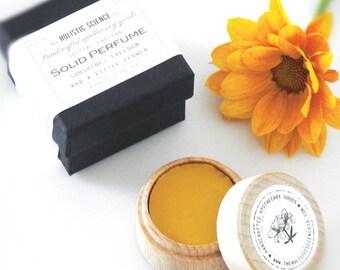 Fine Solid Perfume - Sunshine, Freedom & A Little Flower