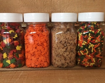 Fall Sprinkle Kit ~ Dipped Apples ~ Chocolate Apples ~ Caramel Apples ~ Dipped Marshmallows ~ Fall Treats