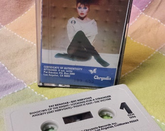 "Pat Benatar ""Get Nervous"" 1982 cassette tape"