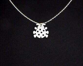 Ladybug Necklace - Ladybug Jewelry - Ladybug Gift - Lady Bug Necklace