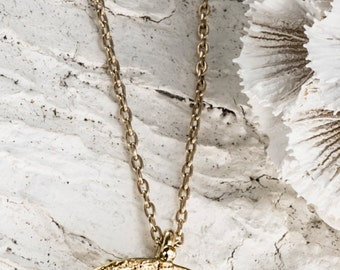 Raw Stone, Gemstone Jewelry, 22k Gold Pendant, Gold Necklaces, Raw Diamond Necklace, Delicate Gold Necklace, Pyrite Pendant, Rough Gemstone