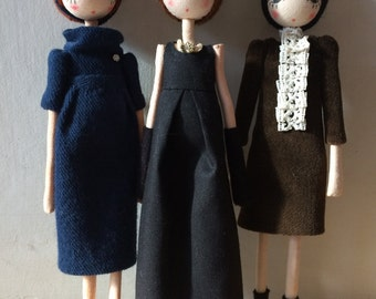 posable art doll, 1960s, poseable art doll, unique art doll, art doll, collectible doll, unique art dolls, art dolls, collectible dolls