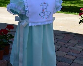 Martha dress (Bib sold separately)