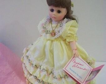 Suellen GWTW 12 in Madame Alexander doll