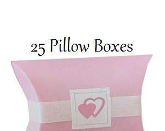 Pink Pillow Boxes