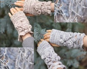 Crochet Pattern: Elegant Rose Hand and Arm Warmers crochet pattern, rose hand warmers, crochet pattern