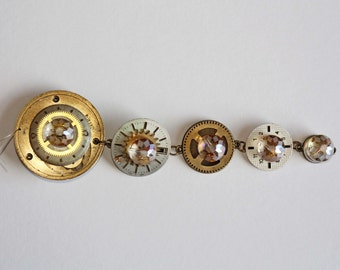 Glass Beads & Watch Parts Christmas Decoration Ornament / Sun Catcher