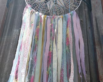 19 inch Pastel Dreamcatcher, Wallhangings, Wall art