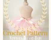 CROCHET PATTERN Newborn dress form mannequin Crochet Mannequin, Infant Mannequin