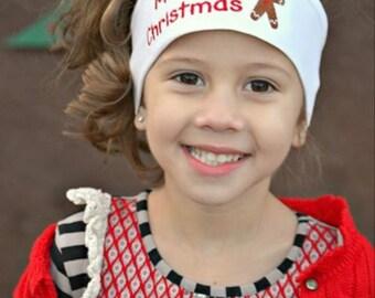 Christmas Embroidered Headband, Christmas Headband, Christmas Hair Accessories, Christmas Accessories, Christmas Family Photos, Head band