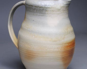 Clay Pitcher Wood Fired G40